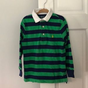 Polo by Ralph Lauren Striped Rugby Shirt